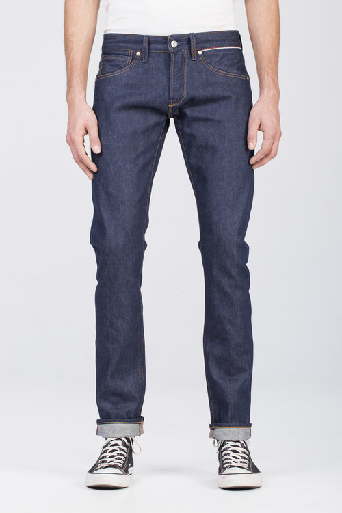 B-01 SLIM 13 oz. indigo selvedge BENZAK DENIM DEVELOPERS