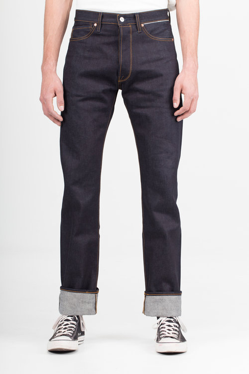 B-02 REGULAR 15 oz. indigo selvedge BENZAK DENIM DEVELOPERS