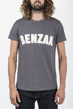 BT-02 BENZAK TEE dark grey melee heavy jersey BENZAK DENIM DEVELOPERS